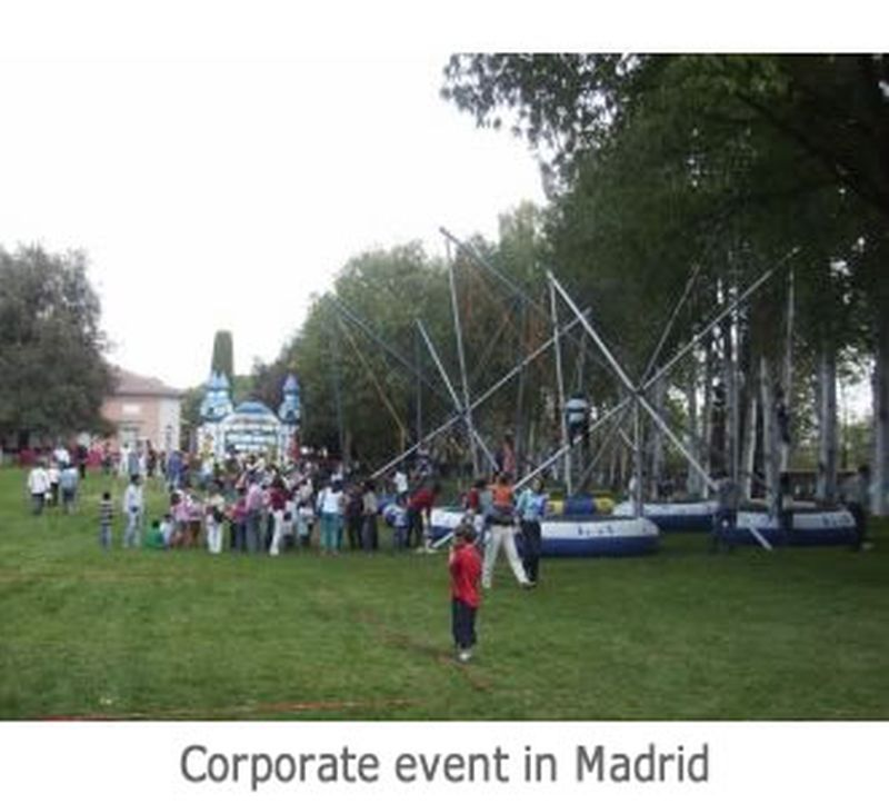 Corporate event in Madrid